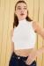 Siyah Ay Evreleri Baskılı Yırtmaçlı Oversize T-shirt