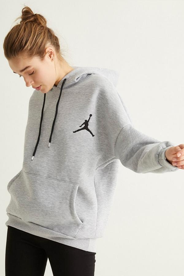 Gri Jumpman Sweatshirt