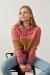 Pembe Kapüşonlu Peluş Detaylı Sweatshirt
